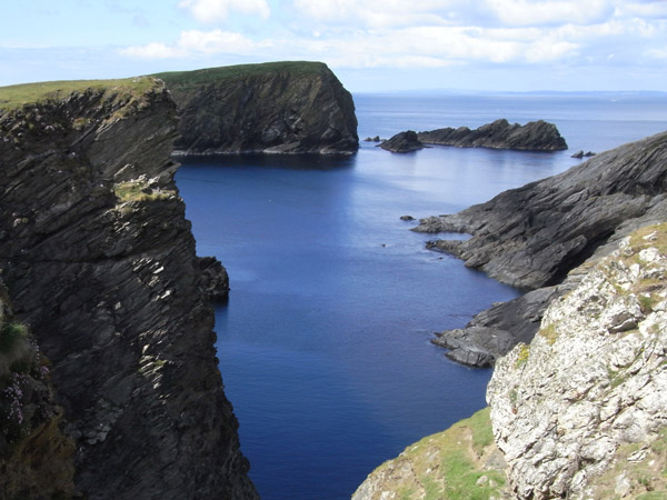 Hich Holm, (a stack lying off St. Ninian's Isle)